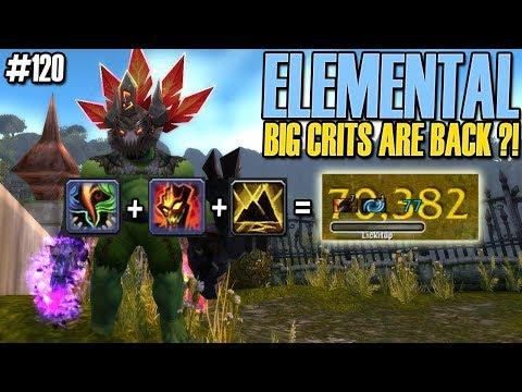 💥NEW CRIT BUILD  Elemental Shaman PvP DAILY BG 120 WoW BFA