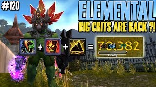 💥NEW CRIT BUILD - Elemental Shaman PvP DAILY BG 120 [WoW BFA]