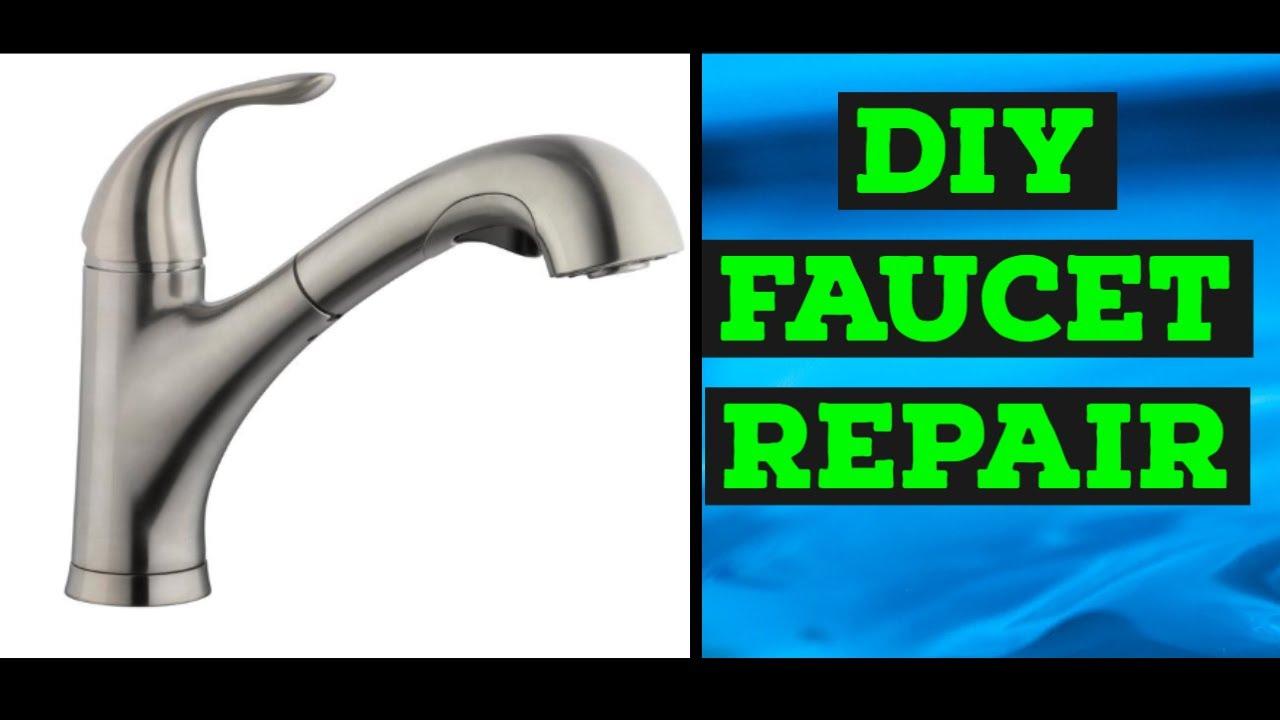 easy kitchen faucet repair leaking low pressure