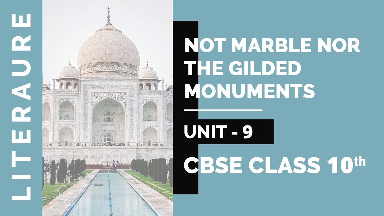 not marble nor the gilded monuments poem meaning