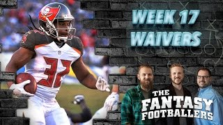 Fantasy Football 2016 - Week 17 Waivers, Streams, #FootClanTitles! - Ep. #336