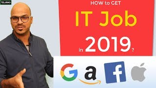 How to get a IT Job as a Fresher?