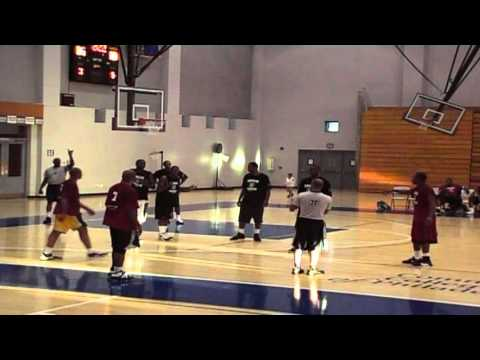 Ceazer Johnson and Lou williams pro am ball vid 4