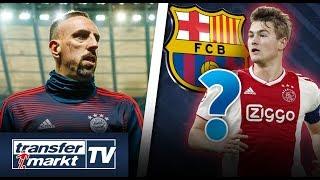 Ribéry plant weiteres Jahr bei Bayern – Auch de Ligt will zu Barça | TRANSFERMARKT