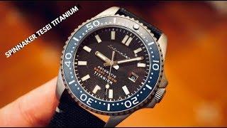 Spinnaker Tesei TITANIUM 200M Dive Watch Review - Nice..
