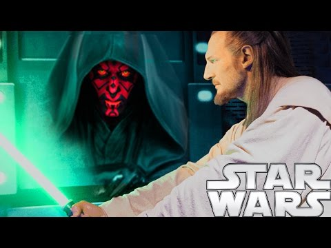WHY Did Qui Gon Jinn Lose to Darth Maul in The Phantom Menace? - Star Wars Explained