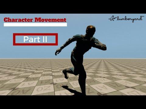 "Amazon Lumberyard Tutorial #23  - Character Movement Part II ""Lua Code"""