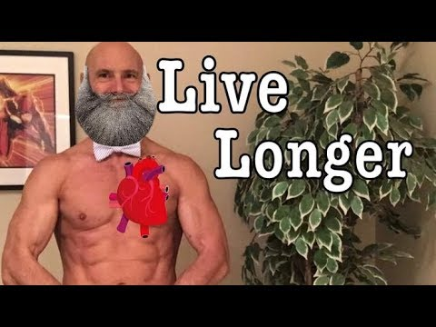 Live Longer and have Greater Longevity by lowering your Resting Heart Rate. With Cardio Diet