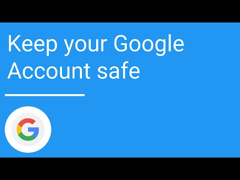 Keep your Google Account safe