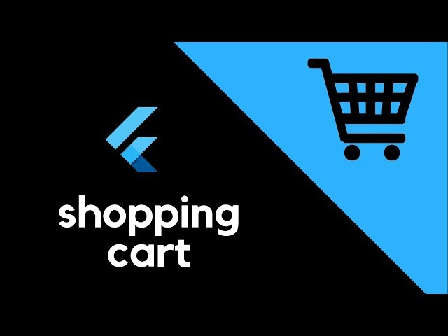 Flutter UI - Shopping Cart