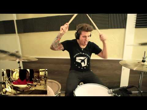 Memphis May Fire  Jake Garland  LEGACY  Drum