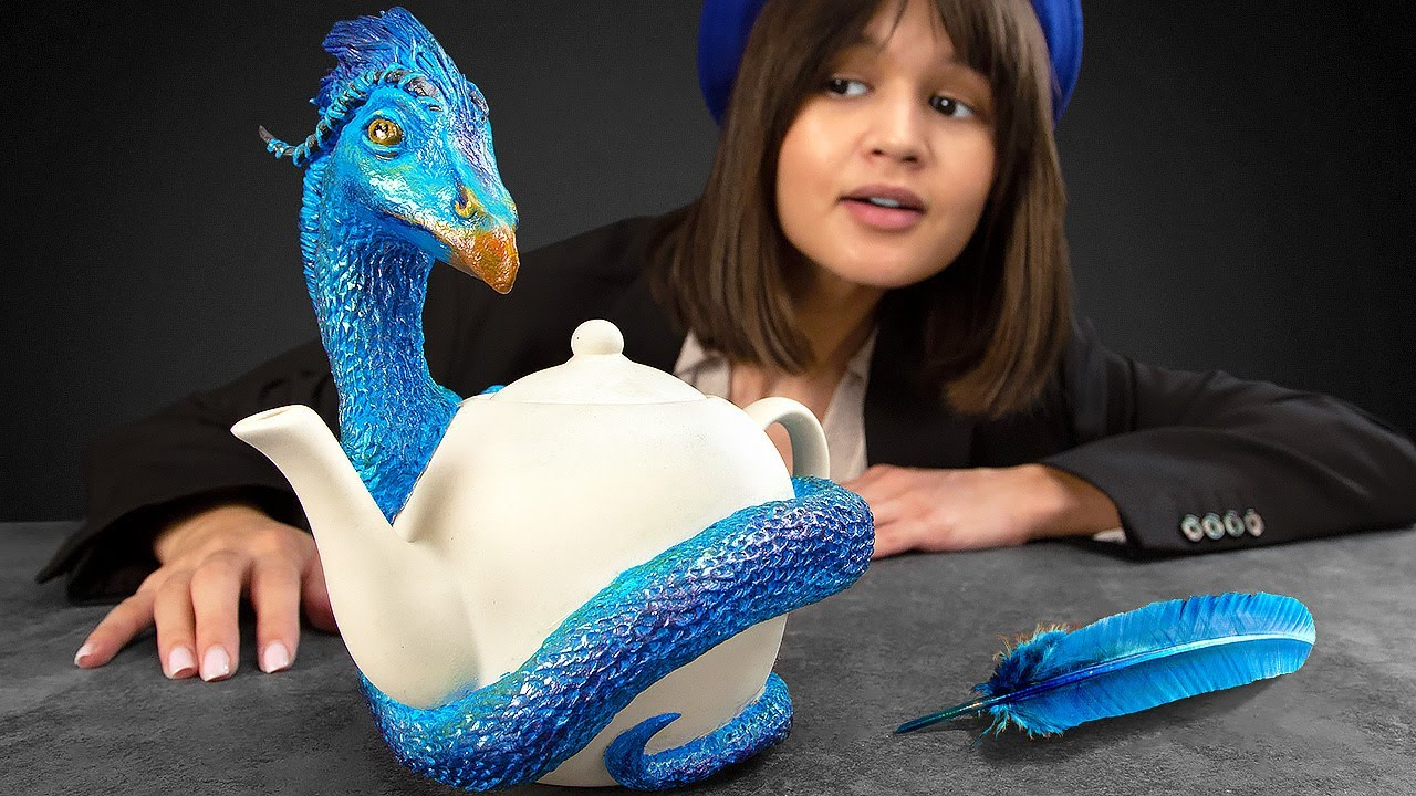 """Making A Clay Teapot With Occamy From The """"Fantastic Beasts And Where To Find Them"""" Movie"""