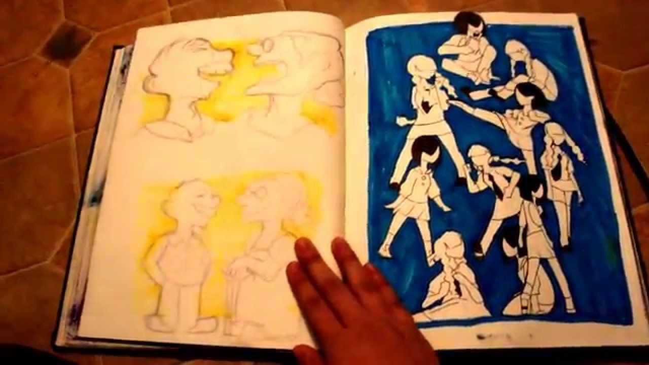 Alyssa's 2015 CalArts Sketchbook (Rejected) by iPixelitei