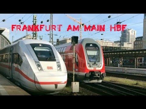Frankfurt (Main) Hbf unter anderem mit ICE 4, Twindexx Vario