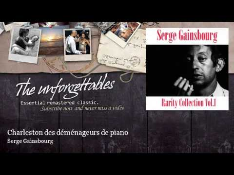 serge gainsbourg charleston des d m nageurs de piano youtube. Black Bedroom Furniture Sets. Home Design Ideas