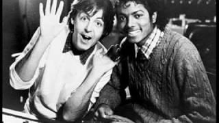 Michael Jackson & Paul McCartney - The Man (with lyrics)
