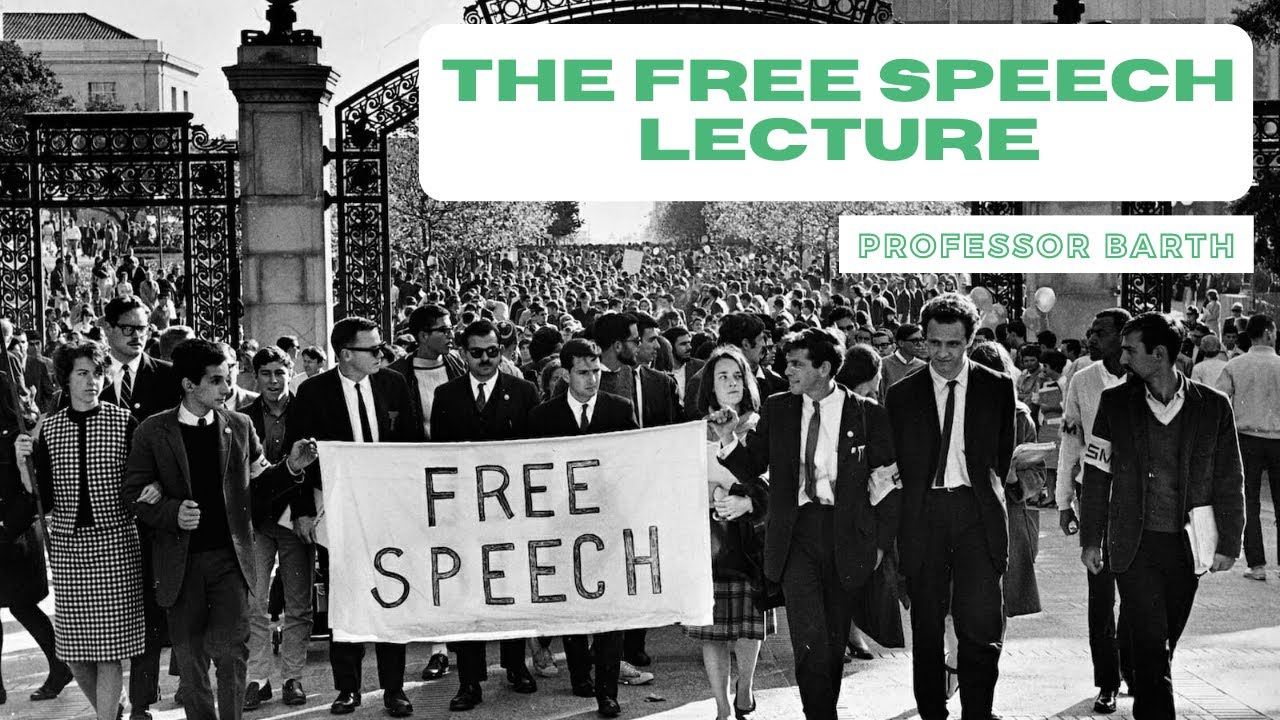 The Free Speech Lecture