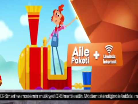 D-Smart İnternet Modem Reklamı - YouTube