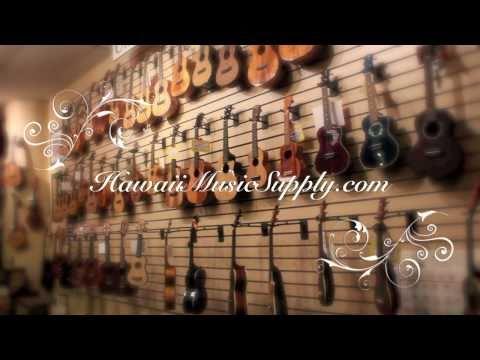 Hawaiian Ukulele Maker, Koolau Ukulele, Ukulele performances, Ukulele Shop Tour