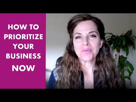 How to Prioritize Your Business. NOW.
