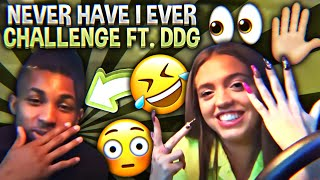 NEVER HAVE I EVER CHALLENGE FT. DDG (I THINK HE LIKES ME) | Woah Vicky