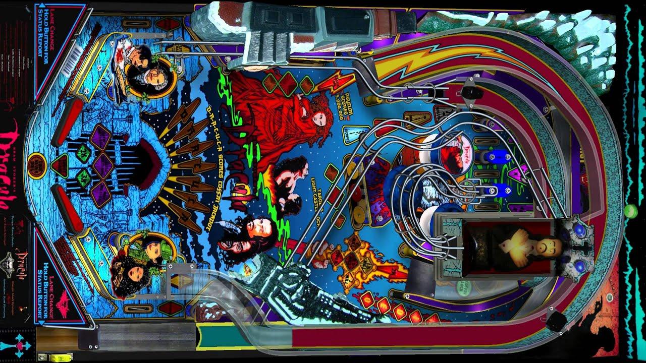 Bram Stoker's Dracula Pinball Fun Box Electronic - YouTube