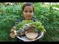 Awesome Cooking Fried Fish With Vegetable Recipe-Cooking Fish Recipe-Village Food Factory-Asian Food