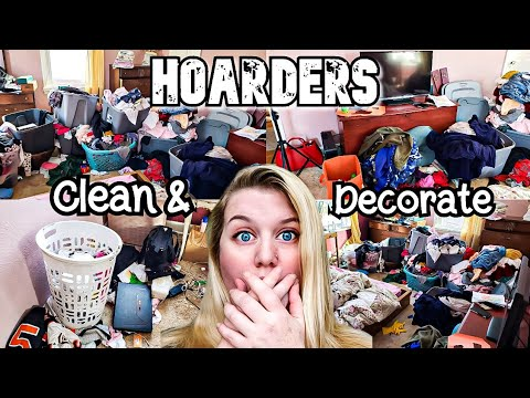 HOARDER! COMPLETE DISASTER CLEANING MOTIVATION BEDROOM MAKEOVER! CLEAN WITH ME! LIVING WITH CAMBRIEA