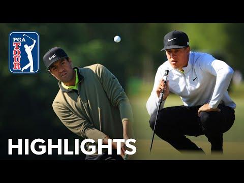 Tony Finau & Cameron Champ shoots 9-under 63 | Round 1 | Zurich Classic | 2021