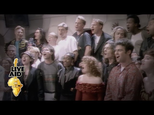 Band Aid II - Do They Know It's Christmas? (Official Video)
