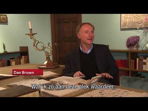 Dan Brown opens Amsterdam Library - Dutch News Item
