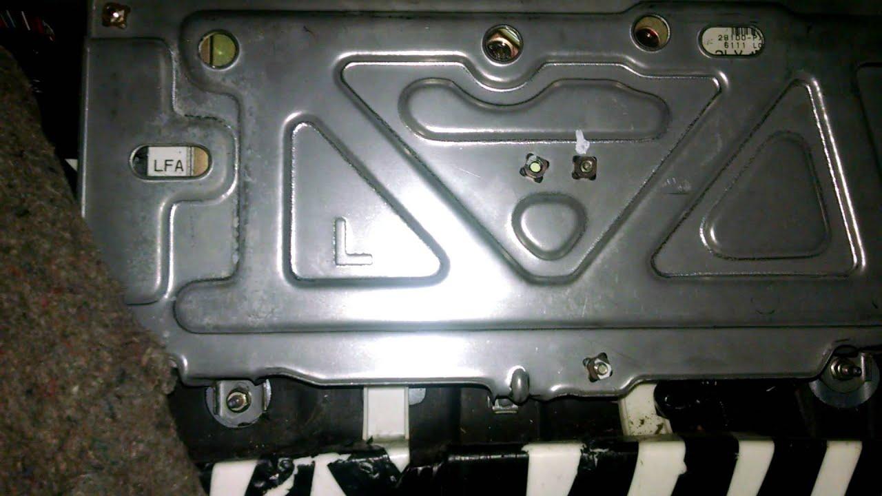 1990 Honda Accord Ecu Tcu Problem Youtube