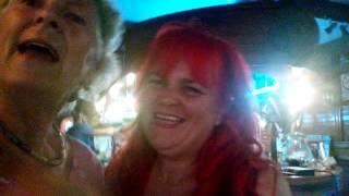 Carla Frieda mit Laly in Puerto Naos