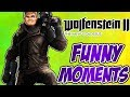 wolfenstein 2 The New Colossus Funny Moments Part 1-Wolfenstain3D & Axe Killing