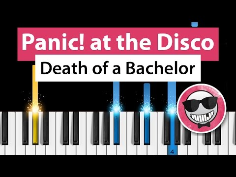 Panic! at the Disco - Death of a Bachelor - Piano Tutorial - How to Play