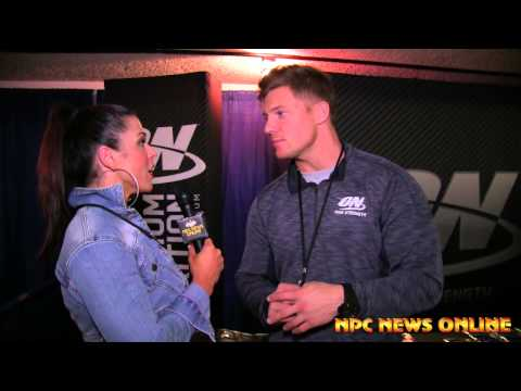 IFBB Pro Steve Cook Interview at the 2014 NPC National Championships