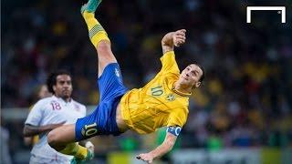vuclip Zlatan Ibrahimovic's famous 30-yard bicycle kick vs England