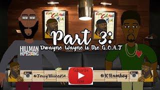 3 Dwayne Wayne G. O. A. T - Zenci Erkek Podcast Karikatür - Dr. Kenton Rambsy (Bölüm)