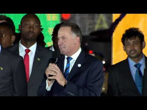 ICC Cricket World Cup 2015 Opening Ceremony
