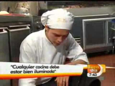 Medidas de seguridad en la cocina buen dia youtube for Medidas de cocina
