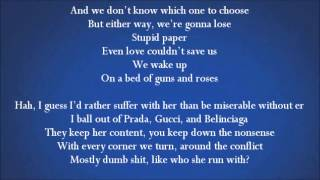 T.I Feat. Pink - Guns And Roses (Lyrics On Screen)