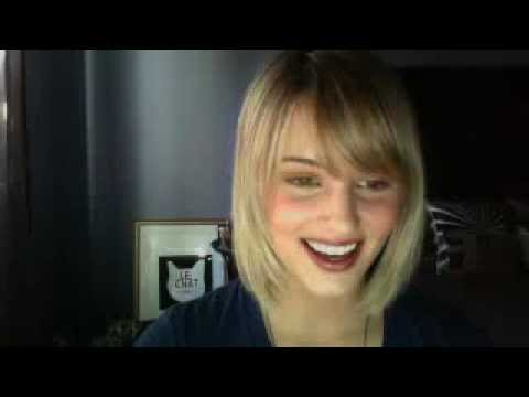 Dianna Agron Chat ustream YouMe&Charlie