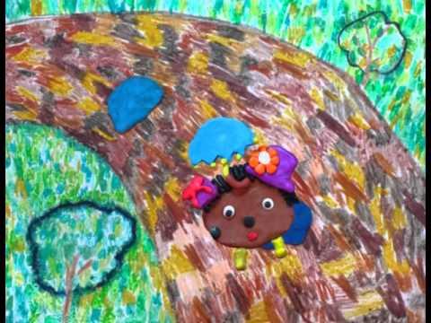 Мультфильм ежик с дырочкой в правом боку