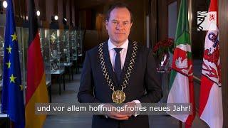 """""""2021 ist das Jahr der Hoffnung"""" - Neujahrsansprache von OB Dr. Stephan Keller"""