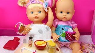 Aventuras De Las Bebés Nenuco Hermanitas Traviesas | Naia Está Malita Tiene Catarro Y Alice La Cuida