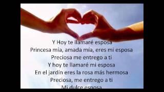 Cancion Cristiano Mi esposa de Abraham Velasquez con letra