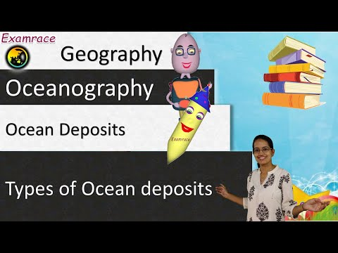 Ocean Deposits - Learning with 3 Classifications & Mnemonics