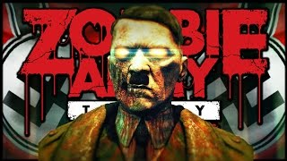 KILLING ZOMBIE HITLER (Sniper Elite 3: Zombie Army Trilogy Funny Moments)