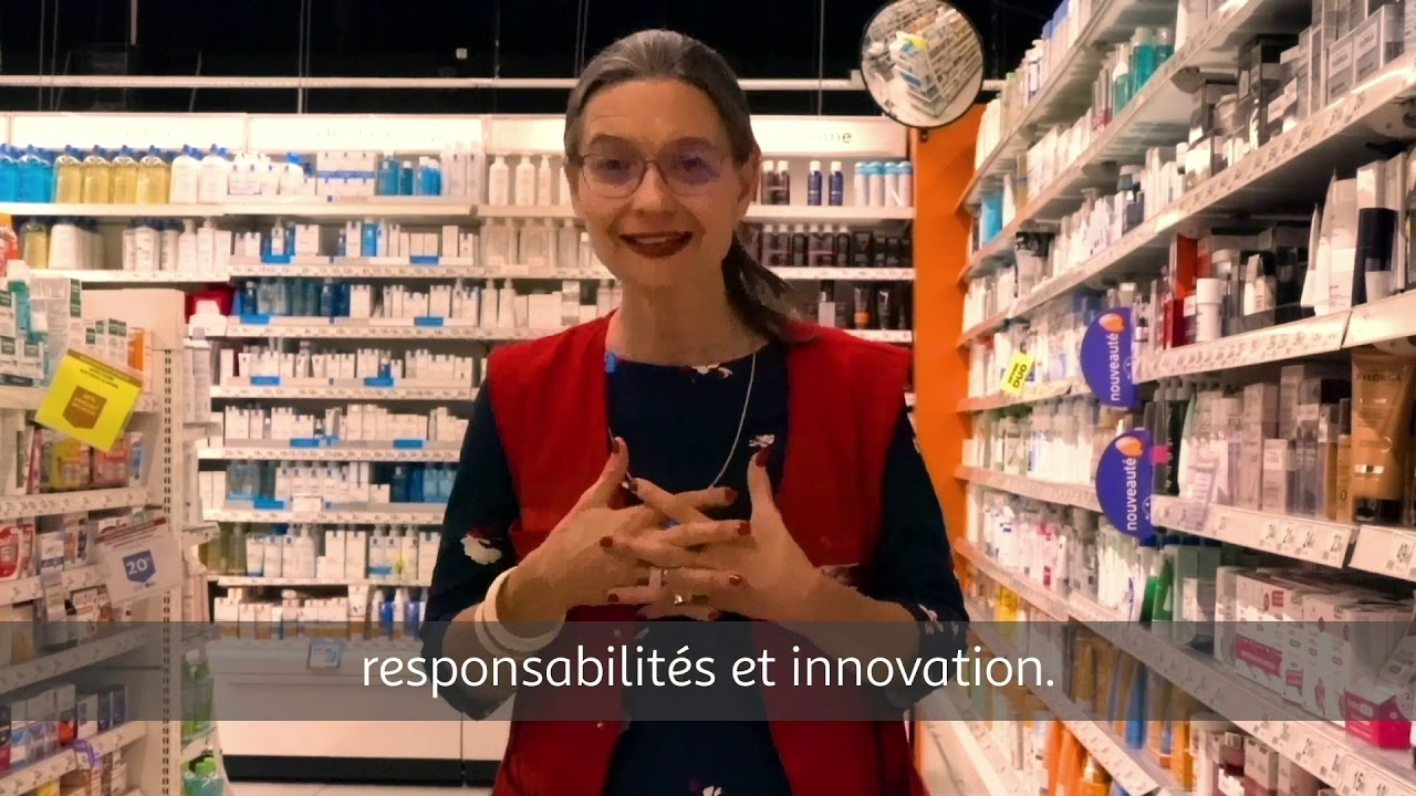 Béatrice, Manager Pharmacienne chez Auchan Retail France