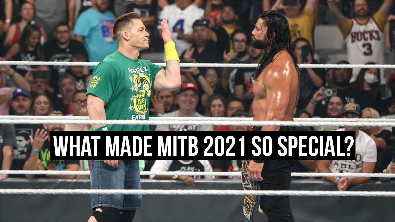 What Made Money in the Bank 2021 So Special?